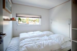Soveværelse i luksushytten