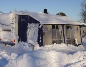 Vintercamping med telt
