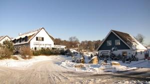 Indkørslen om vinteren